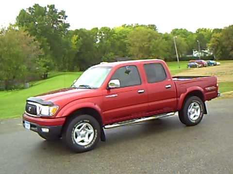 2003 Toyota Tacoma Double Cab Limited Youtube