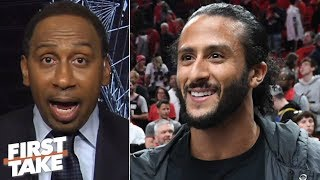 Jay-Z should tell Roger Goodell to help Colin Kaepernick land an NFL job - Stephen A. | First Take
