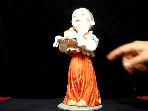 """PORCELAIN DOLL MOVIES REALLY """"RUSSIAN BREAD-and-SALT"""",30 cm.,single example,2011"""