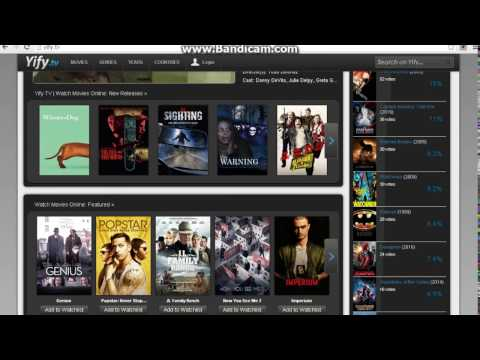 Can you watch 2015 movies streaming with no credit