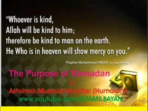 Tamil Bayan Ash-sheikh Murshid Mulaffer The Purpose Of Ramadan video
