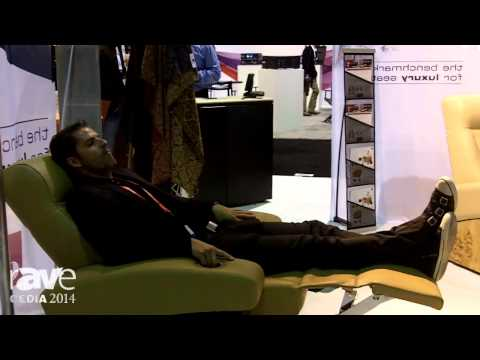 CEDIA 2014: CINEAK Features Fortuny Motorized Incliner With Motorized Articulating Headrest