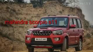 india ki best 7str 4x4 suv mahindra scorpio s11 2019