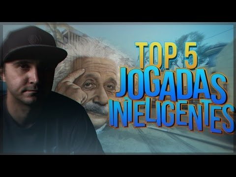 CS:GO - TOP 5 JOGADAS INTELIGENTES