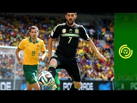 ESPAÑA GANA SU ULTIMO PARTIDO DE BRASIL 2014 - AUSTRALIA 0-3 ESPAÑA (22/6/2014)