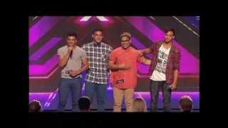 Fourtunate - Auditions - The X Factor Australia 2012 night 5 [FULL]