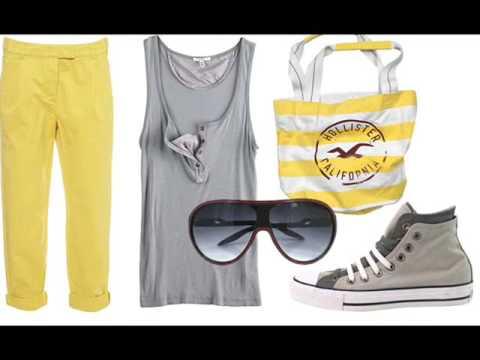 moda urbana amarillo