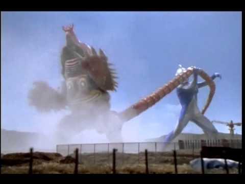 Ultraman Cosmos vs Mogrudon
