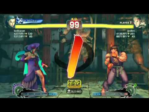 Rose(ke4karan) VS Ryu(jyobin)