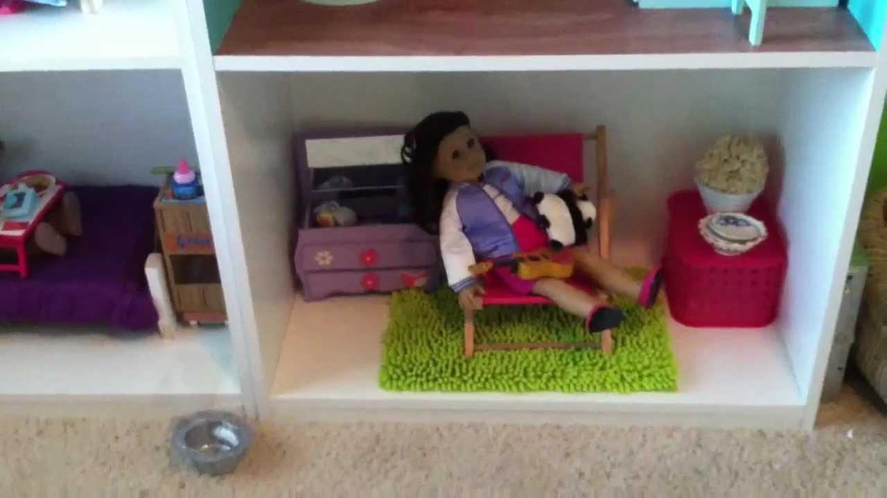 my american girl doll house d youtube