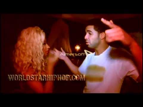 Drake and Nicki Minaj Kissing Backstage