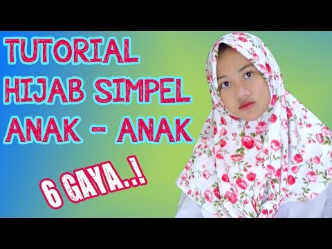 Tutorial Hijab Anak-anak 6 Gaya Simpel Dengan Hijab Bermotif #NMY Hijab Tutorials