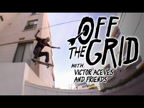 Victor Aceves And Friends Skate The Side Of Venice You Never See | Off The Grid