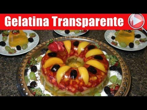 Gelatina Transparente con Frutas | Para el Dia de las Madres - Recetas en Casayfamiliatv