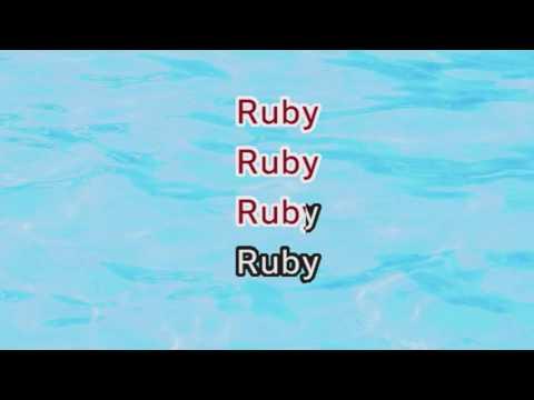Kaiser Chiefs - Ruby (Karaoke and Lyrics Version)