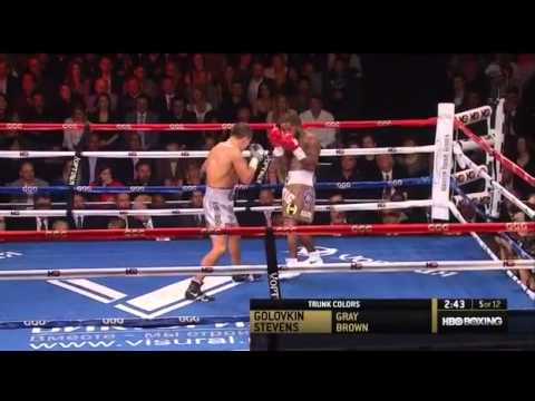 Gennady Golovkin vs Curtis Stevens Full Fight Highlights