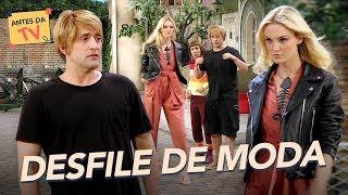 Rique e Violeta promovem DESFILE DE MODA | A Vila | Nova Temporada | Humor Multishow