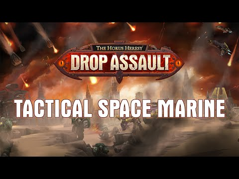 Tactical Space Marine Showcase | The Horus Heresy: Drop Assault - Warhammer 40,000