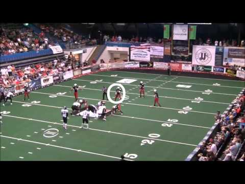 DeJuan Fulghum 2012 IFL highlights (full season)