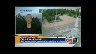CNN: bombing of Luhansk by Ukrainian troops