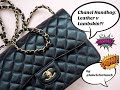 Chanel Handbag Lambskin Leather V Caviar Leather Watch This Before You Make Your Next Purchase mp3