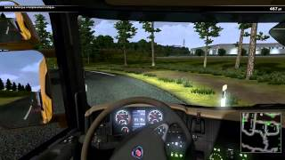 Scania Truck Driving (Semi grue)