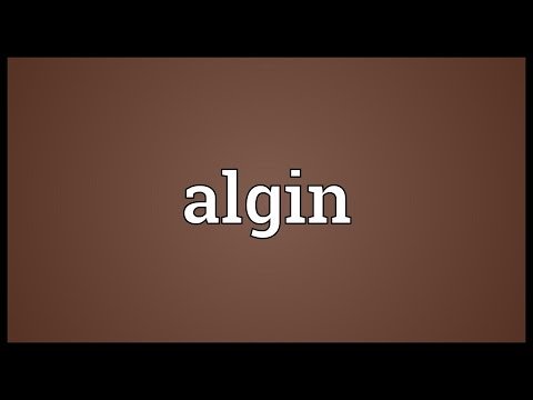 Header of algin