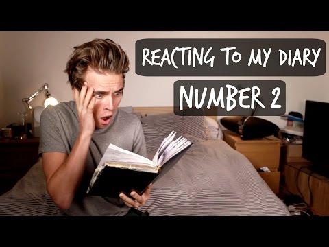 Reacting To My Old Diary 2 | Thatcherjoe video
