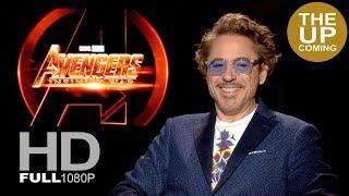 Robert Downey Jr praises Chris Hemsworth, first Iron man, Avengers directors.Infinity War interview
