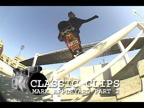 Mark Appleyard Skateboarding Classic Clips Part 2 #49 Ali