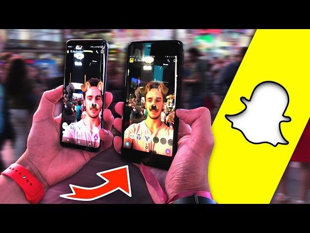 Snapchat iPhone VS Snapchat Android A New-York