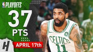 Kyrie Irving Full Game 2 Highlights Celtics vs Pacers 2019 NBA Playoffs - 37 Pts, TOO CLUTCH!
