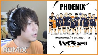 Download lagu PHOENIX - Haikyuu Season 4 OP (ROMIX Cover)