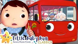 Wheels On The Bus! Baby Bus! +More Nursery Rhymes & Kids Songs - ABCs and 123s | Little Baby Bum