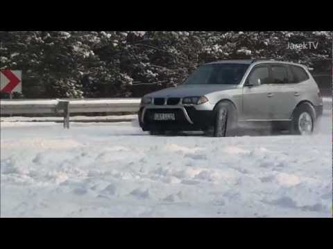 BMW X3 E83 snow off road