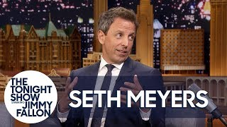 Seth Meyers Recounts His Baby's Dramatic Apartment Lobby Birth