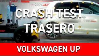 Crash test trasero Volkswagen Up