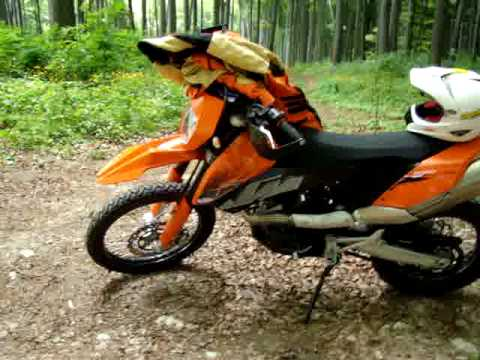 KTM 690 ENDURO 2009 Video