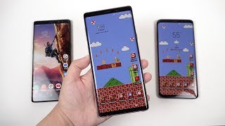 Galaxy Note 9 Review: One Month Later (Performance Comparisons)