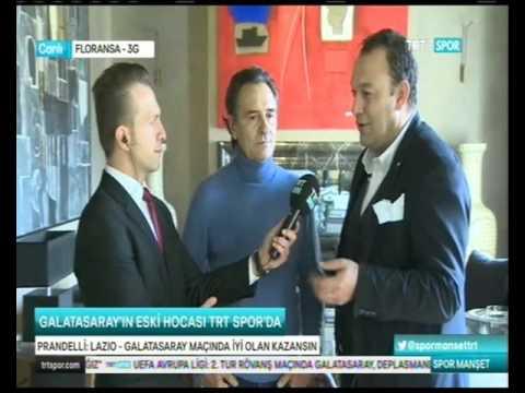 25.02.2016 lazio vs galatasaray maç önü cesare prandelli röportajı