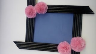Newspaper PhotoFrame Tutorial