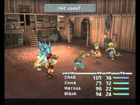 Misc Computer Games - Final Fantasy 9 - Battle 2