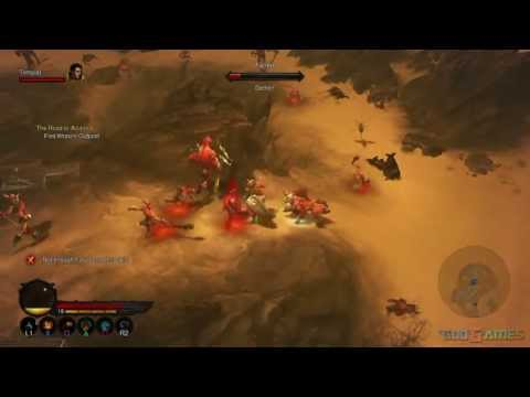 Diablo 3 PS3 Walkthrough 1080p – Normal ACT 2 Barbarian female AndrissGG Part 1