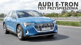 Audi e-tron 408 KM - acceleration 0-100 km/h