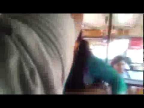 Tarado no Ônibus se da muito mal