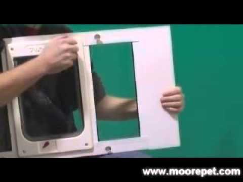 Cat Door Insert For Window Window Pet Door Insert