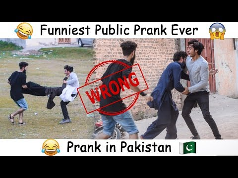 Funniest public prank ever - Gone Too Far 2018 | Prank in Pakistan