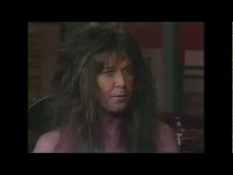 WASP - Blackie Lawless Interviews interview On Headbangers Ball 1989