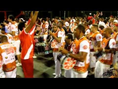 Ensaio Salgueiro esquenta bateria 2012