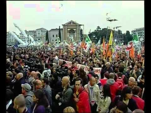 In nome del popolo italiano - Intervento di Sigmar Gabriel - Youdem Tv